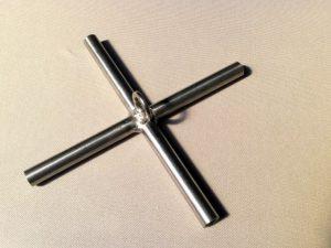 Kříž na čeřen 2 x 2m