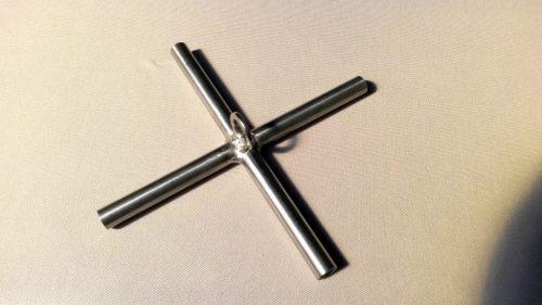 Kříž na čeřen 2,0 x 2,0m - 1
