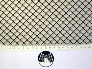 Klecová síť závěsná 1,0 x 1,5 x 1,0m PAD 10/1,4 mm tmavě zelená - 1