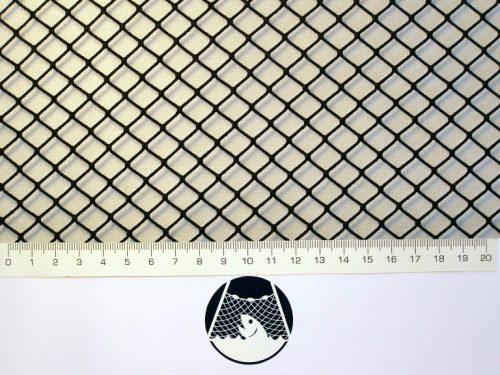 Síťovina polyamid nylon rašlovaná strojní 10×10/1,4 mm PAD tmavě zelená - 1