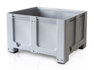 Plastový paletový box 120 x 100 x 80 cm