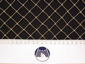 Krycí síť proti drobným ptákům PET 20/1,0 mm kámen