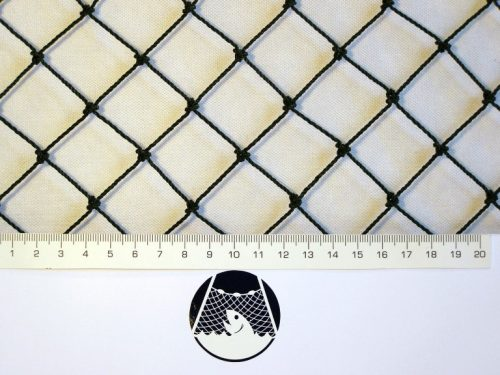 Ochranná síť polyethylen (PET) 27/1,5 mm černá uzlová - 1