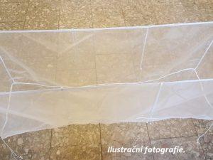 Kolíbka zuhelonu 50 x 100 x 50 cm/ 176 µm
