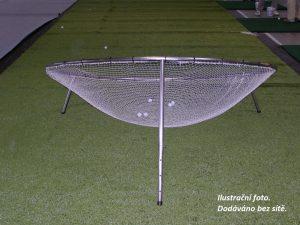 Samostatný rám chippingového terče Ø 381 cm