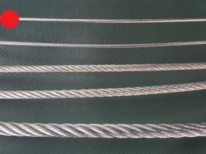 Ocelové lano Ø 2 mm ZN