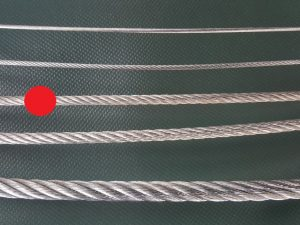 Ocelové lano Ø 4 mm ZN