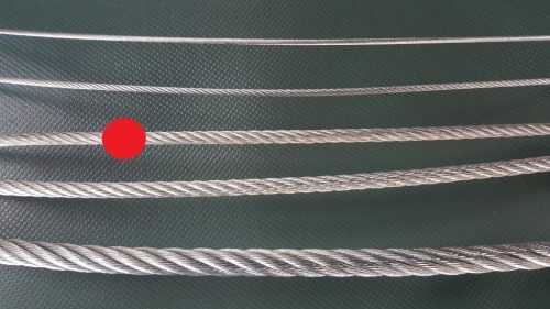 Ocelové lano Ø 4 mm zinkované - 1