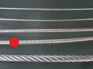 Ocelové lano Ø 6 mm ZN