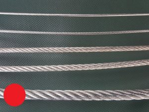 Ocelové lano Ø 8 mm ZN