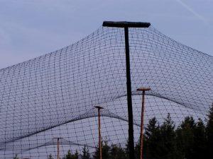 Voliérová síť na chov bažantů PET 55/1,4 mm černá - 3