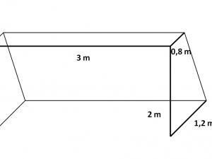 Fotbalová síť na branku N PPV 120/3,0 mm bílá