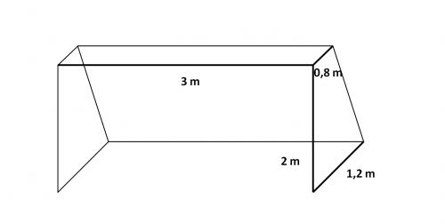 Fotbalová síť na branku N PPV 120/3,0 mm bílá - 1