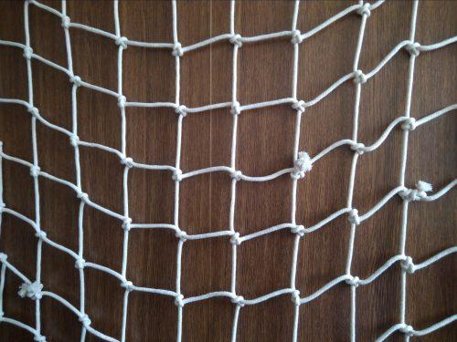 Dekorační síť ručně pletená N, bavlna 100/5,0 mm - 1