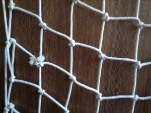 Dekorační síť ručně pletená N, bavlna 100/5,0 mm - 2
