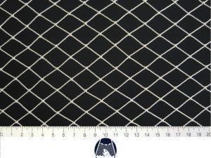 Prubní plot 60 x 6 m/ PAD 20×20/1,4 mm bílá – uzel