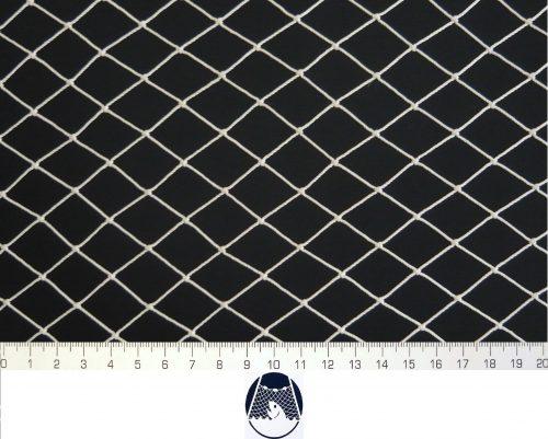 Síťovina polyamid nylon uzlovaná strojní 20×20/1,4 mm PAD bílá - 1