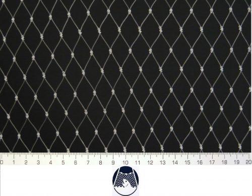 Voliérová síť pro chov kočet PAD 20×20/0,8 mm transparent uzlovaná - 1