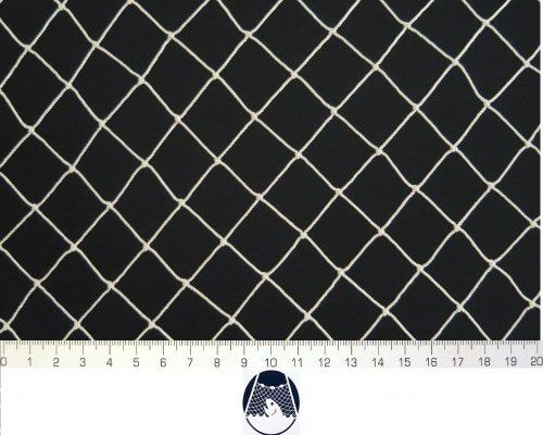 Síťovina polyamid nylon uzlovaná strojní 25×25/1,4 mm PAD bílá - 1
