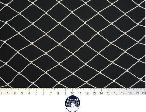 Síťovina polyamid nylon uzlovaná strojní 30×30/1,4 mm PAD bílá - 1