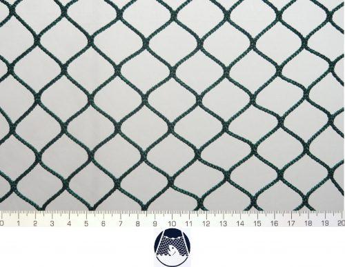 Síťovina polyamid nylon rašlovaná strojní 30×30/3,0 mm PAD zelená - 1
