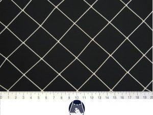 Síťovina polyamid nylon uzlovaná strojní 40×40/1,2 mm PAD bílá