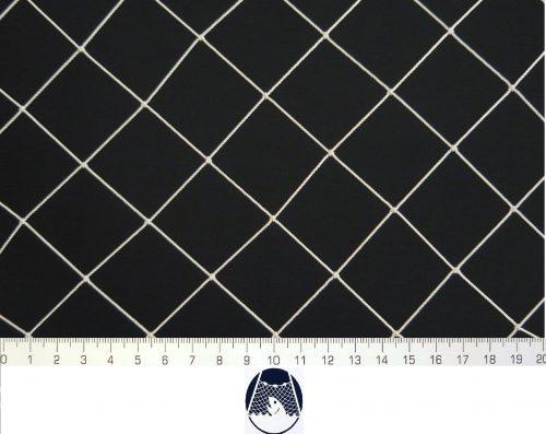 Síťovina polyamid nylon uzlovaná strojní 40×40/1,2 mm PAD bílá - 1