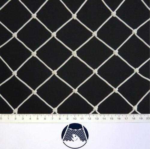 Ochranná síť polyethylen (PET) 45/2,5 mm bílá uzlová - 1