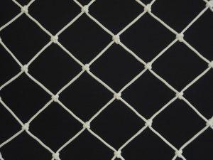 Ochranná síť polyethylen (PET) 45/2,5 mm bílá uzlová - 2