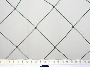 Voliérová síť pro chov drůbeže PET 80/2,0 mm tmavě zelená