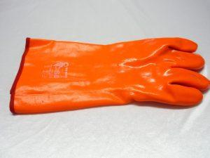 Rukavice PVC zateplené – pracovní Flamingo