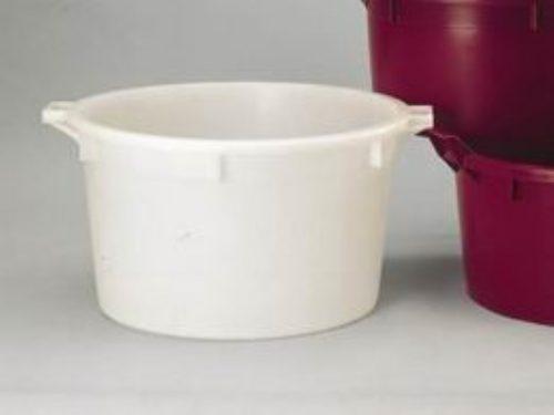 Káď  110l vinařská bílá suchy - 1