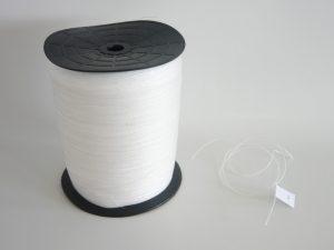 Provázek polyethylen (PET) Ø 0,7 mm/ 1kg skaná, bílá