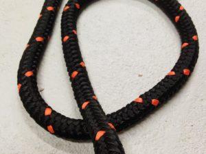 Tažné lano 16 mm N, PPV černá – 8m - 3