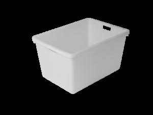 Přepravní box 65l bílá (PE)