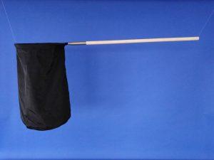 Odchytová síťka Ø 40 cm, násada dřevěná 90 cm