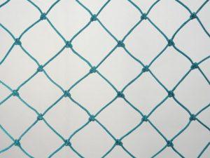 Ochranná síť polyethylen (PET) 45/2,5 mm zelená uzlová - 2