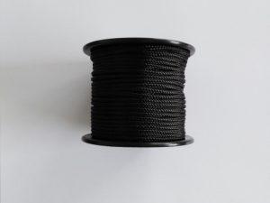 Provázek polyamid (PAD) Ø 3,0 mm/ 200 g – černá