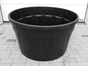 Káď  500l černá polyethylen