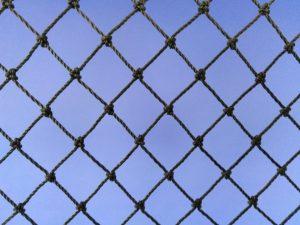 Voliérová síť pro chov drobných ptáků PET 15/1,1 mm tmavě zelená - 2