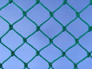Síťovina uzlová polyethylen (PET) – multifil 30×30/2,5 mm zelená