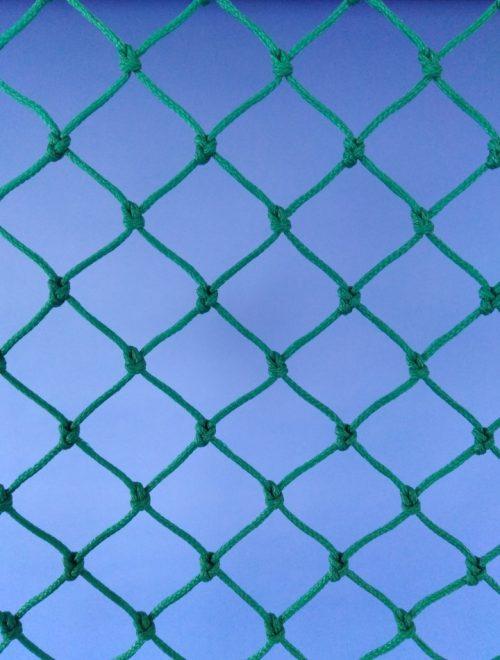 Ochranná síť polyethylen (PET) 30/2,5 mm zelená uzlová - 1