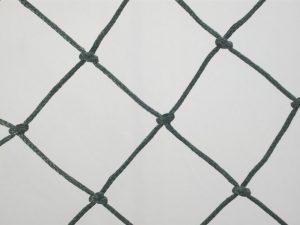 Ochranná síť polyethylen (PET) 50/2,5 mm tmavě zelená uzlová