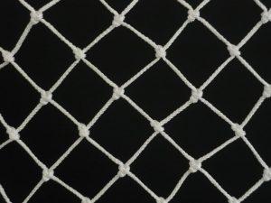 Ochranná síť polypropylen (PPV) 40/3,0 mm bílá uzlová