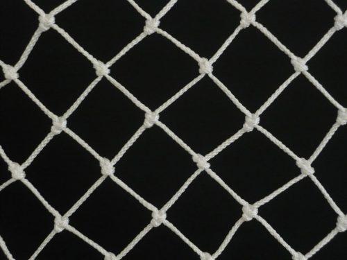 Ochranná síť polypropylen (PPV) 40/3,0 mm bílá uzlová - 1