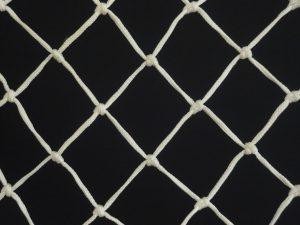 Ochranná síť polypropylen (PPV) 50/3,0 mm bílá uzlová
