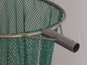 Keser na odchyt bažantů 50 cm/ síťka 10×10/1,4 mm zelená - 1