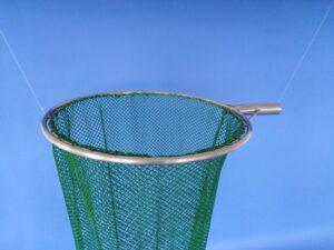 Keser na odchyt bažantů 50 cm/ síťka 10×10/1,4 mm zelená - 2