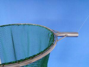 Keser na odchyt bažantů 50 cm/ síťka 10×10/1,4 mm zelená - 3