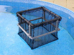 Kolíbka sdvojitým plovoucím rámem 1 x 1 x 0,8m PAD 10/1,4 mm - 4